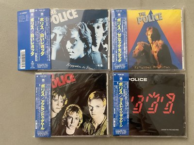 The Police 警察合唱團 4張專輯 CD 日本版 Sting