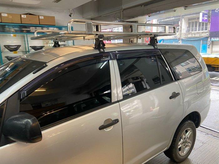 INNOVA 鋁合金車頂行李架 白鐵行李盤 可驗車 載貨好幫手 台灣製