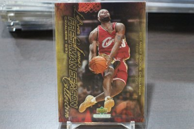 Lebron James~2003-04 Upper Deck Freshman Season 新人卡~RC 非常少見