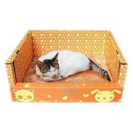 【🐱🐶培菓寵物48H出貨🐰🐹】DYY《幸福之日》DIY寵物睡床 (單層睡床;軟墊需另購) 特價235元(限宅配)