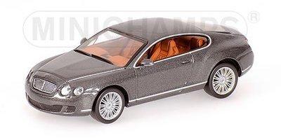 【限量大盒】英國賓利BENTLEY CONTINENTAL GT頂級轎跑/超跑 Rolls Royce/Ferrari對手,僅此一台!