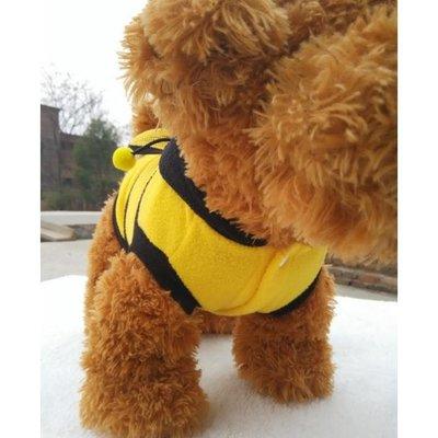 寵物經典時尚小蜜蜂變身衣 寵物衣服 狗衣服