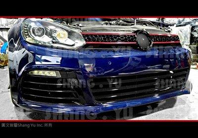 VW GOLF6 MK6 GTI 紅線 水箱罩 09 10 11 12 13