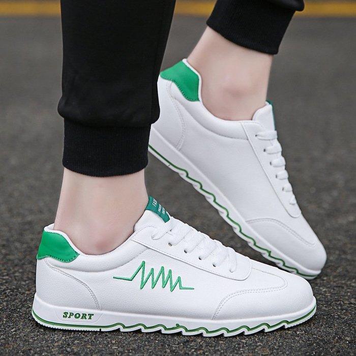 時尚男鞋男士小白鞋爆款男鞋韓版跨境白色板鞋男帆布鞋男