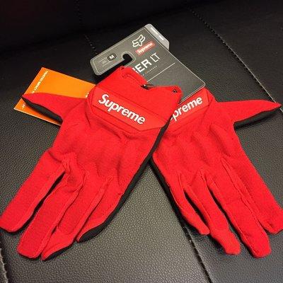 xsPC Supreme x Racing Fox Bomber LT Gloves 紅色 機車手套 防風