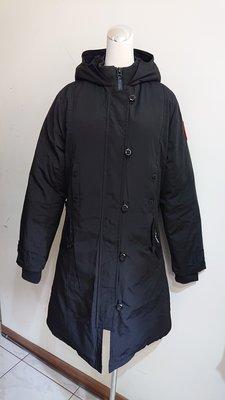 Canada Goose 黑色羽絨外套/雪衣外套(36)