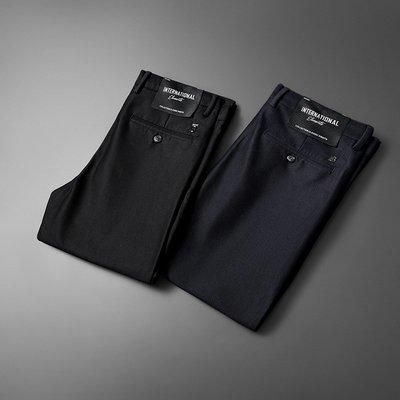 酷愛潮牌高級貨商務春裝 男士巴寶莉時尚修身正韓單西褲休閒小直筒休閒褲