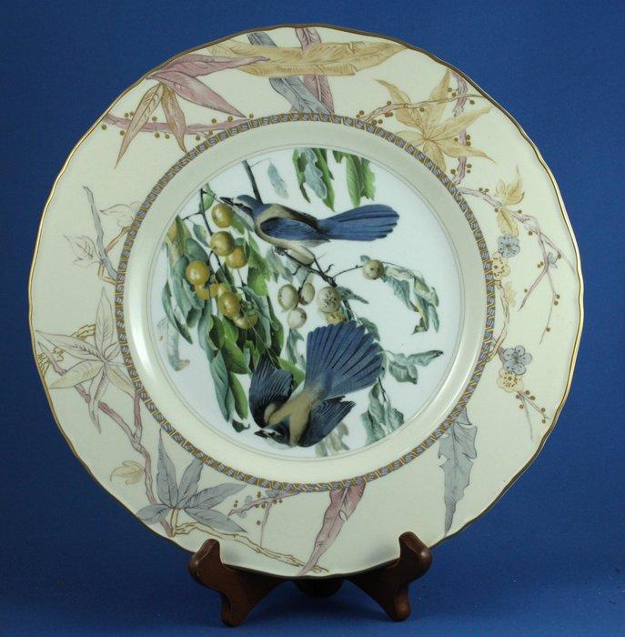 [美]英國百年名瓷 ROYAL DOULTON  1976年限量大骨瓷裝飾盤 - FLORIDA JAY