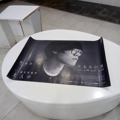 盧廣仲|11週年演唱會|大人中|台北小巨蛋|海報