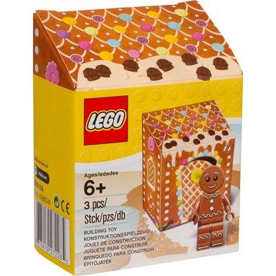 (JEFF) LEGO 樂高 5005156 新版 薑餅人 非 71002 71022