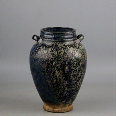 ㊣姥姥的寶藏㊣ 宋代鈞窯爐鈞釉雙系罐子