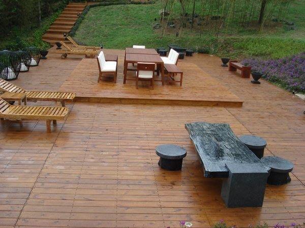 (尚霖木作工程館)南方松戶外工程 露台、平台、景觀台、木棧道、樓梯 戶外景觀工程