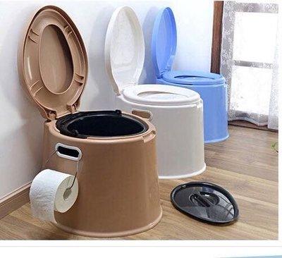 加高老人孕婦馬桶 蹲坐兩用便攜成人移動坐便器 塑料尿盆座便器 露營  現貨
