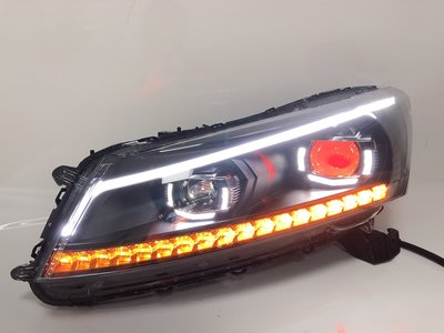 (小鳥的店)本田 08-13 ACCORD 雅歌 雅閣 8代 八代 K13 大燈 頭燈 LED 導光
