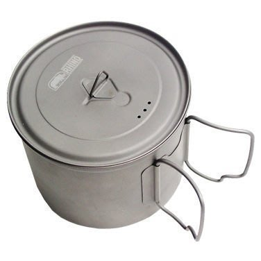 【大山野營】附D型扣 犀牛 RHINO KT-11 500cc 0.55L 超輕鈦合金湯壼 鈦碗 鈦杯 鈦鍋