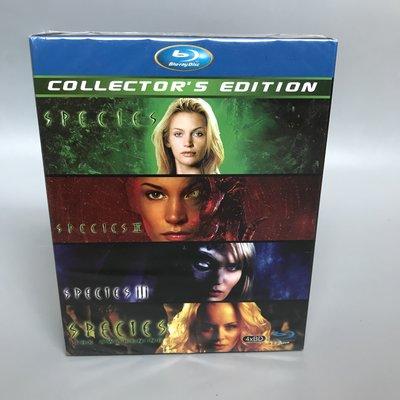 異種 Species 1-4部 藍光BD 高清電影 經典套裝收藏版 碟片