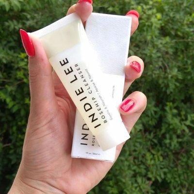 ❤ 購物狂小姐 ❤ 現貨 美國小眾護膚品牌 INDIE LEE 玫瑰果籽油潔面乳 30ml 洗後不緊蹦 專櫃代購 ❤