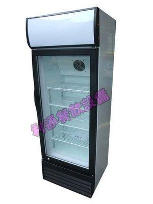 《利通餐飲設備》1門玻璃冰箱(黑色) 180L單門冰箱 一門冰箱冷藏冰箱 冷藏櫃 展示櫃 展示櫥~