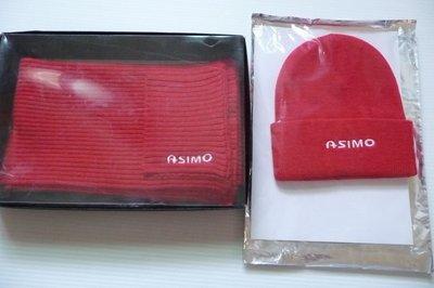韓流來襲 HONDA台灣本田 原廠精品 全新降價出清 限量 絕版 ASIMO 字樣 圍巾+帽子