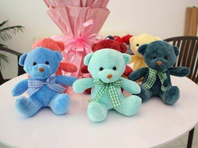 P106~~~20公分彩色寶貝熊玩偶
