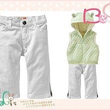 【B& G童裝】正品美國進口OLD NAVY白色牛仔長褲4yrs