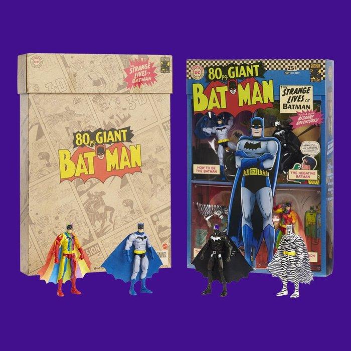 BEETLE 2019 SDCC 展場限定 DC COMICS BATMAN 蝙蝠俠 80周年  四入 套裝組 現貨
