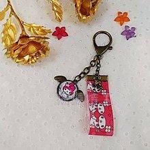 【飛揚特工】時光寶石 鑰匙圈 玻璃寶石 緞帶提帶 手工/客製化