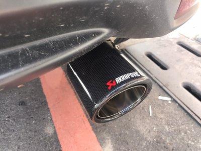 九七八汽車精品 本田 HONDA HRV HR-V 專用 正卡夢 蠍子 尾飾管 排氣管 原廠免拆 直上 出口 101MM