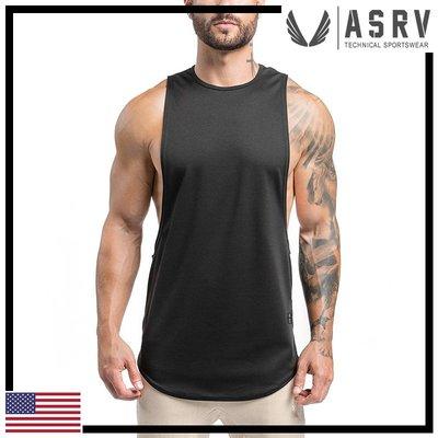 瘋狂金剛▸ 黑 ASRV SilverPlus® Muscle Tank 大袖孔防臭快乾坦克背心 運動 健身