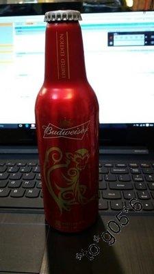 Budweiser 百威 - 2016年 猴年 鋁樽 一枝 (已放水)