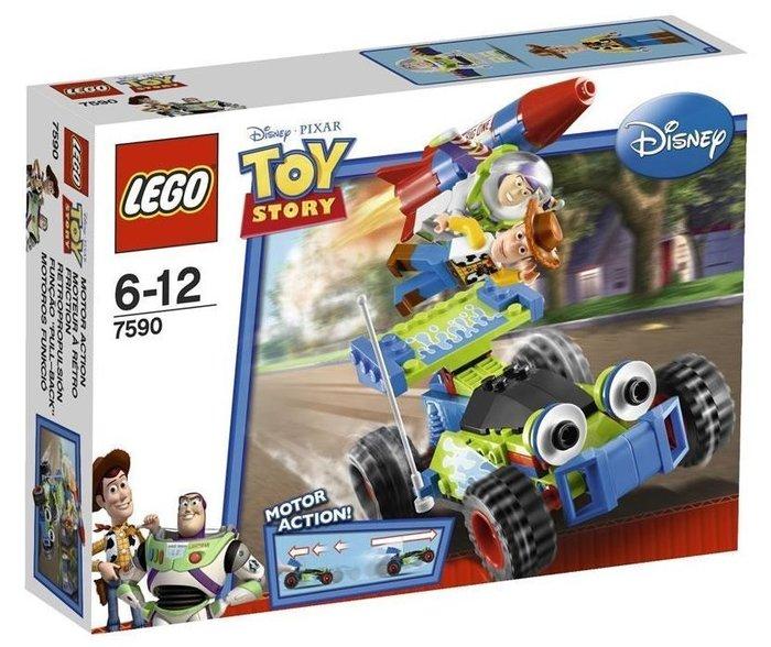 2010年絕版品【LEGO 樂高】全新正品 益智玩具 積木/ 玩具總動員 胡迪 & 巴斯的拯救行動 7590