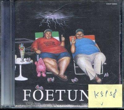 *真音樂* FOE / FOETUNES 日版 二手 K5958  (清倉.下標賣1)