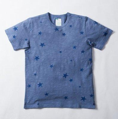 [ADLIB TAINAN] 滿版星星短袖薄感上衣/T-shirt (990)