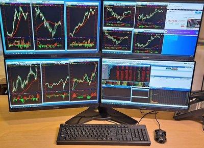 超強i7八核心股市看盤主機-專業投資&職業操盤手必備-2021年多螢幕股市看盤主機(另有立架選購~全機三年保固大台北到府