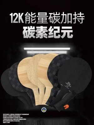 球拍STIGA斯蒂卡碳素紀元樊系橙標乒乓球拍碳纖維乒乓球底板樊振東12K
