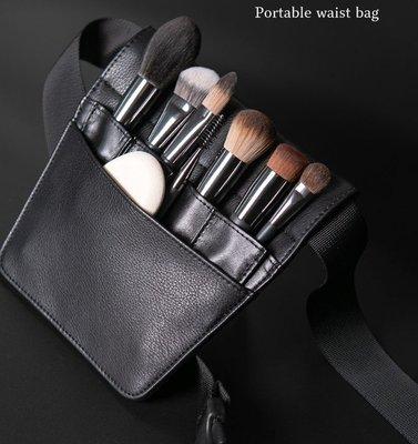 Cerro Qreen 化妝刷包 便攜化妝刷收納包 收納袋 化妝刷具包 小號三角腰包 (空包不含刷具)彩妝工具【愛來客】