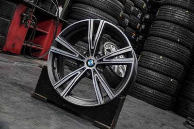 國豐動力 BMW G20 G21 原廠 STY791 前et27 8j 後 et40 8.5J 19吋 中古鋁圈 歡迎洽詢