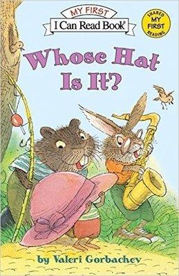 *小貝比的家*WHOSE HAT IS IT? /MY FIRST/平裝/3~6歲