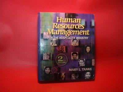 【愛悅二手書坊 07-32】Human Resources Management for the -
