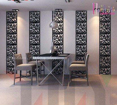 ☆[Hankaro]☆歐式壓克力鏡面立體組合花紋C牆貼(單片)