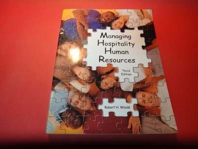 【愛悅二手書坊 16-41】Managing Hospitality Human Resources