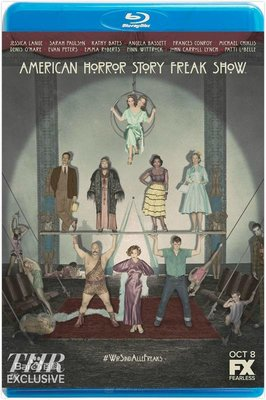 美國恐怖故事:畸形秀  美國怪談  美国怪谭  第4季  共2碟  American Horror Story