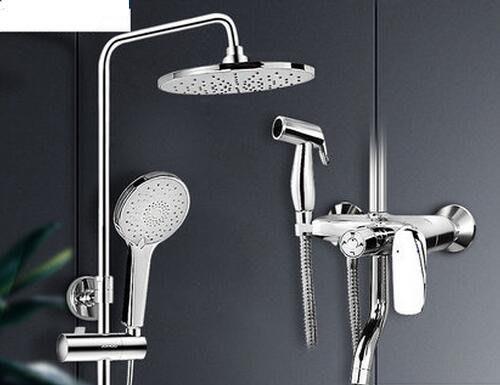 888利是鋪-衛浴花灑套裝 恒溫淋浴器全銅水龍頭衛生間浴室可升降沐浴器#花灑套裝