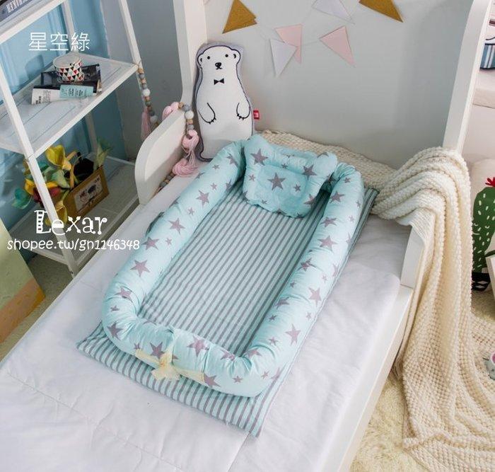 出口原單月亮船床中床便攜式嬰兒床寶寶床新生兒床嬰幼兒折疊小床