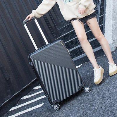 拉桿箱  箱子行李箱皮箱拉桿旅行箱萬向輪男女20寸韓版密碼箱小清