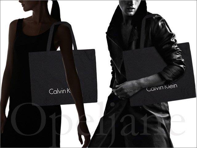 全新現貨非贈品 CK Calvin Klein 卡文克萊 黑色環保購物袋 購物包托特包 再生布非不織布 愛COACH包包
