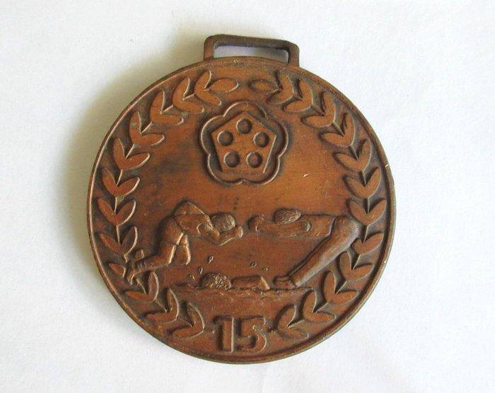 出賣家藏--73年15屆大專院校運動大會獎牌