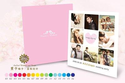 【璽卡】Seecard 婚卡 【拍立得謝卡 雙面隨意組合款】♥ 大小謝卡 ♥ 方形謝卡  ♥ 長型謝卡 ♥