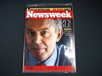 【懶得出門二手書】英文雜誌《Newsweek》NOBODY'S POODLE 2007.2.26 (無光碟)│全新(21F32)