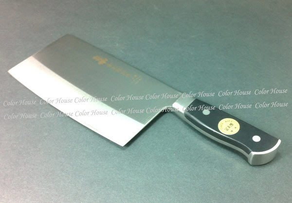 § Color House § 金太郎 三合鋼角型文武刀 6 寸  剁刀 30cm